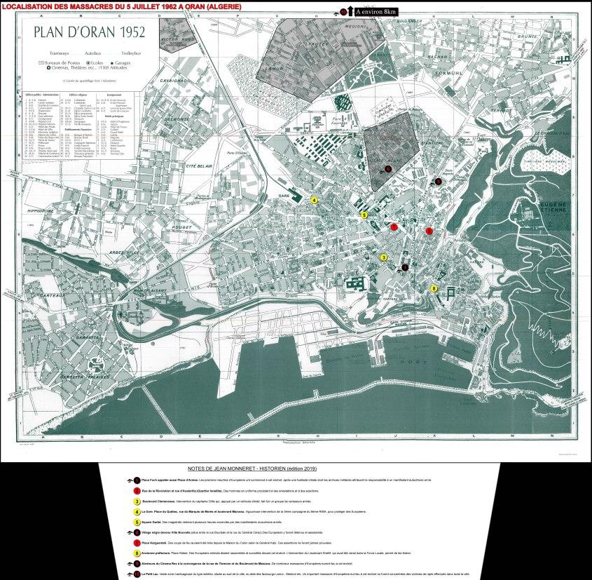 Plan d'Oran en 1962